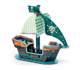 Pirate ship 3D Pop up and play