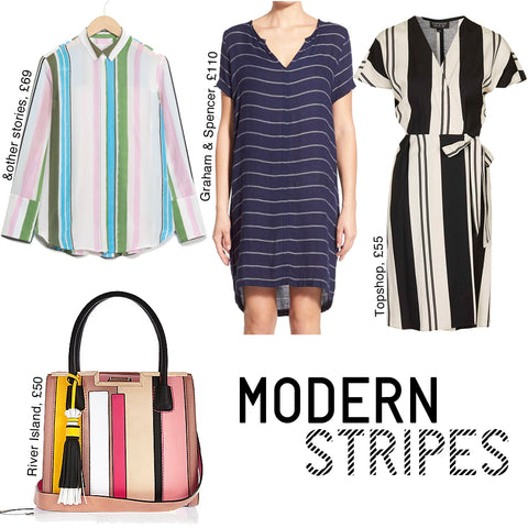 modern bold  stripes spring summer 2016