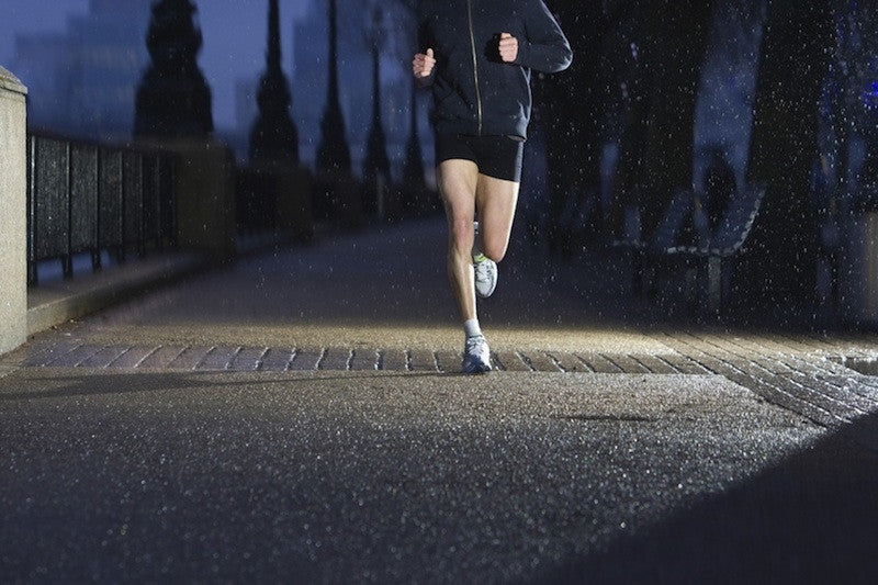Scared to Safety when Running at Night!