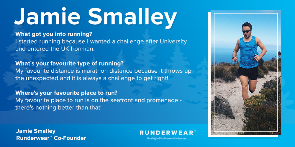 Runderwear Jamie Smalley Global Running Day