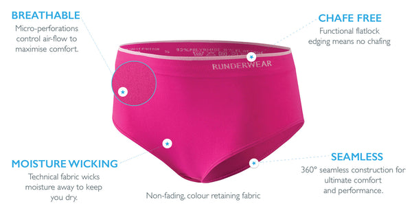 womens performance running underwear