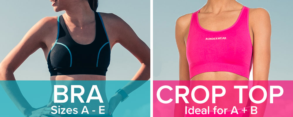 6e9f0258fcd8e The Runderwear™ Crop Top and Runderwear™ Running Support Bra are designed  for maximum comfort and chafe-free running and perfectly complement the  Runderwear ...