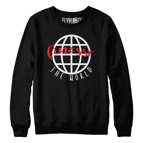 Finesse The World Crew / Black