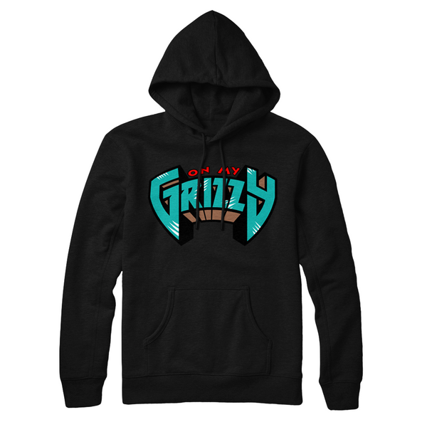 On My Grizzy Hoodie / Black