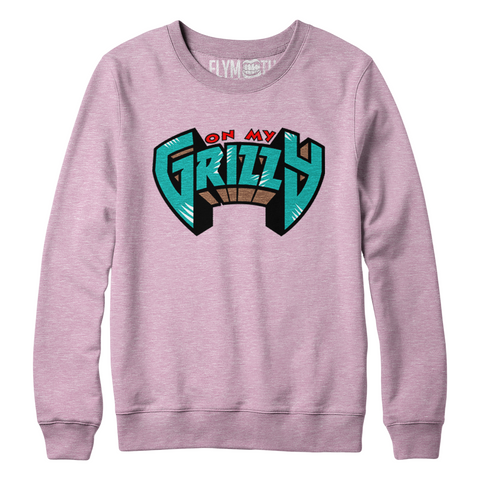 On My Grizzy Crew / Light Pink