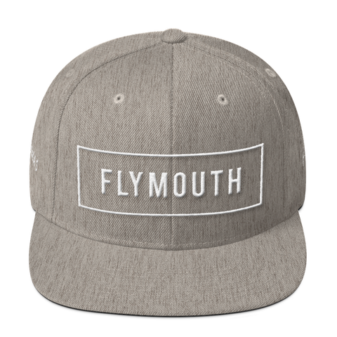 Box Fly Snapback / Heather Grey