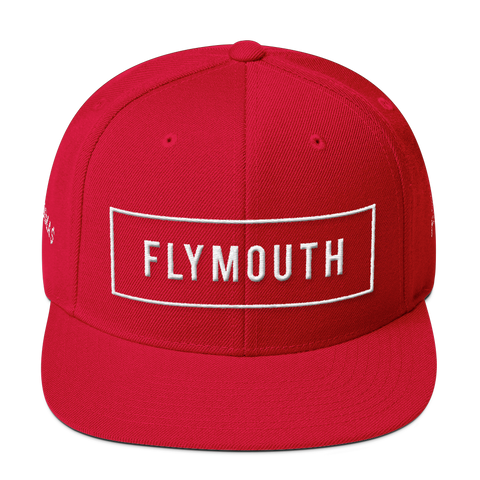 Box Fly Snapback / Red