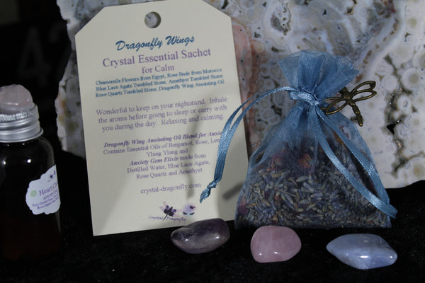 Gem Elixirs / Gem Water / Essential Oil Blends / Sachets