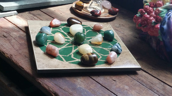 Crystal Grids by Intention