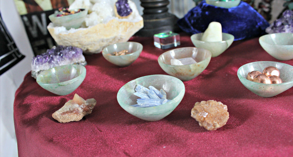 Gemstone Carved Bowls