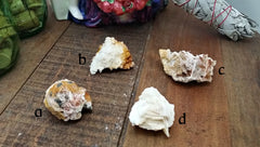Barite Clusters