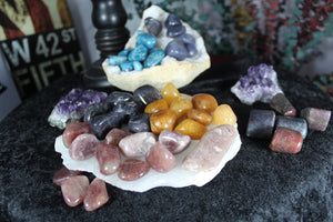 Tumbled Yellow Aventurine for abundance, creativity and centering emotions