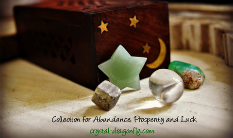 Abundance, Prosperity and Luck Wood Boxed Set; FB1282