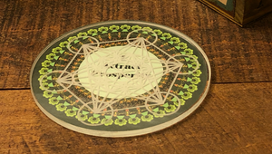 Laminated Intention Cards for Crystal Grids; FB1810