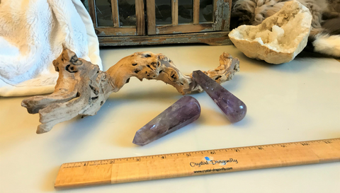 Amethyst Polished Wands with Terminated Point; FB1771