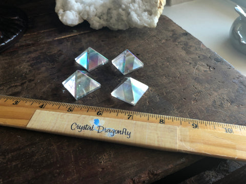 Angel Aura Quartz Pyramid; FB2253