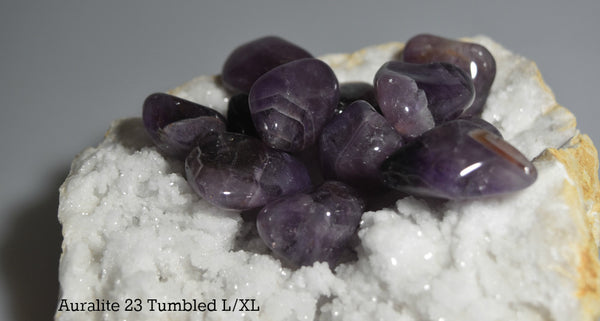 Tumbled Auralite 23 for balance, healing and harmony; FB1176