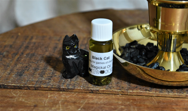 Black Cat Protection & Good Fortune Collection, FB1456
