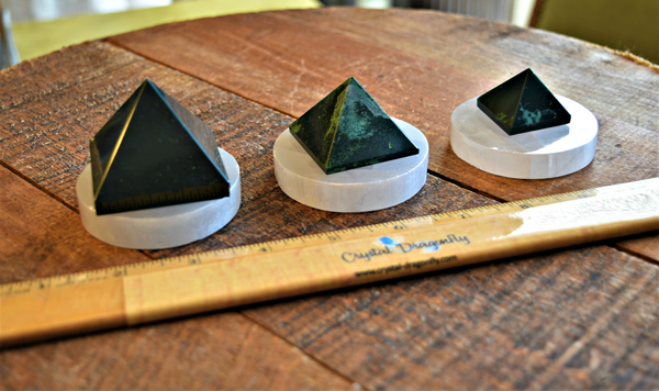 Bloodstone Pyramids for prosperity and renewal; FB1576