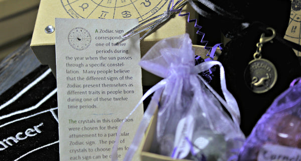 Zodiac Crystal Astrology Grid Collections - Boxed Collection
