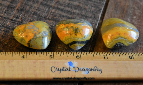 Bumblebee Jasper Puffy Hearts for Joy & Self-Esteem, FB1547