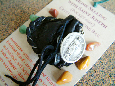 Crystal Medicine Bag - Pocket Size - Home Selling