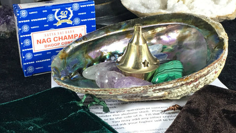 Choices Abalone Shell Crystal Collection