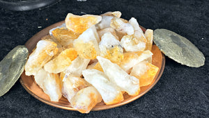 Citrine Natural Points from Brazil