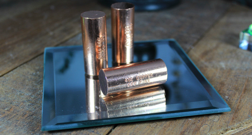 Copper Cylinder for boosting and enhancing