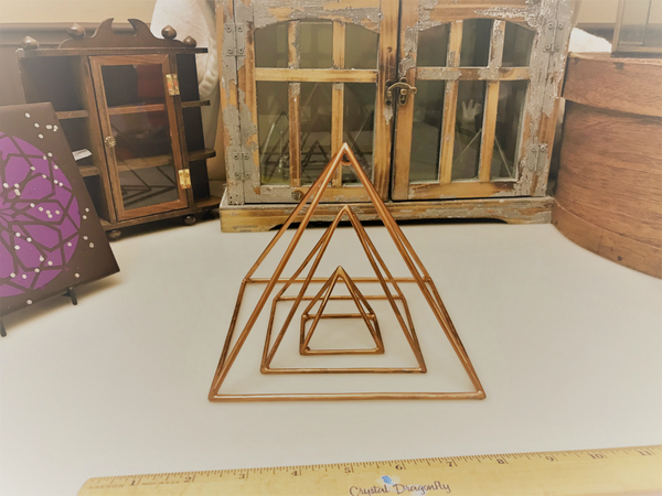 Copper Pyramids, Standard; FB1650