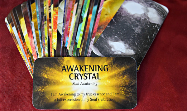 Crystal Wisdom Affirmation Cards; FB1251
