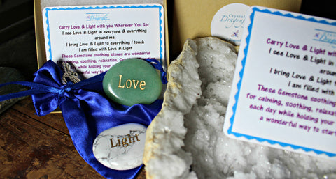 Dragonfly Gem Pouch - Love & Light Boxed Collection