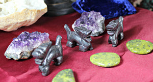 Dragon Carving, Assorted Gemstones- Spirit Dragon