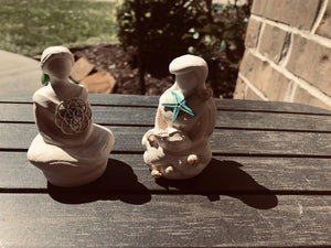 Sitting Goddesses for your Altar or Sacred Space; FB1170