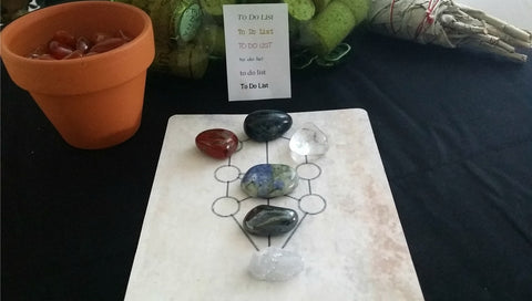 Get it Done! Crystal Grid Collection for motivation and action
