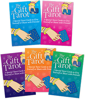 The Gift of Tarot Collection - Colorful 3-pack of Radiant Rider-Waite Tarot Cards; FB1234