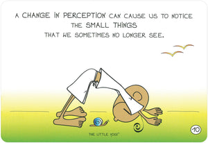 The Little Yogi© Happy Notes: 40 Inspiration / Impulse Cards With Instructions
