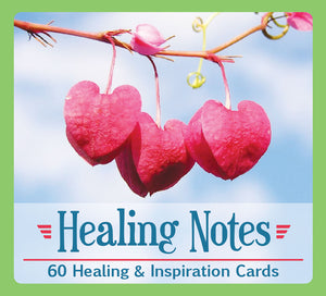 Healing Notes- 60 Healing & Inspiration Card & Tumbled Stone with Pouch; FB2616