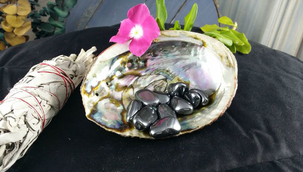 Tumbled Hematite - Reduces Stress, Shielding & Decreases Negativity