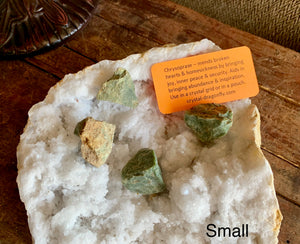 Chrysoprase Rough from Madagascar - Great Centerpiece for Crystal Grid - Joy, Mends Broken Heart
