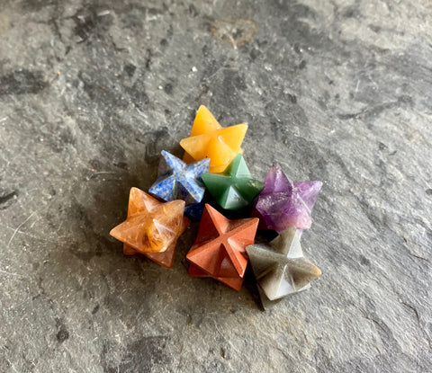 Sacred Geometry Merkabas - Chakra Collection; FB2306