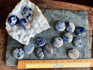 Sodalite Pocket Stone for communication; FB1490