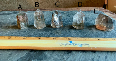 Shamanic Dream Quartz (Scenic Quartz) Polished Points from Brazil; FB2382