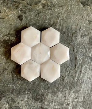 Hexagon Carved Six Sided Star - Star of David - Sacred Geometry; FB2349