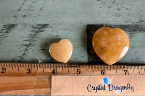 Azozeo Activated Himalaya Red & Gold Azeztulite Hearts / Ajoite Quartz Polished pieces