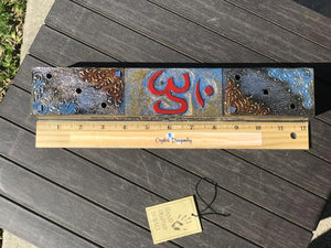 Moon Phases or Om Incense / Potpourri Storage Box hand crafted in Bali; FB2546