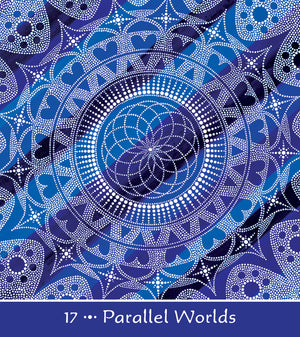 Mother Earth Mandala Oracle 44 card Deck with Guidebook