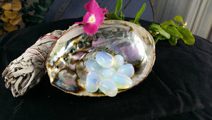 Tumbled Opalite - Stone of Eternity, Angelic Connection, Business Success & Dream Interpretation