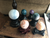 Ornate Sphere Stands; FB2166
