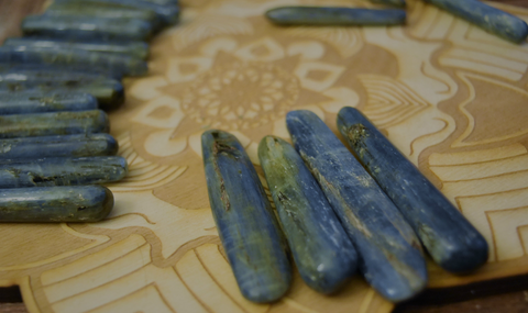 Polished Blue Kyanite Sticks; FB1527